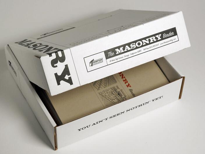 StudioConover - Thompson Building Materials   Thompson Building Materials Box