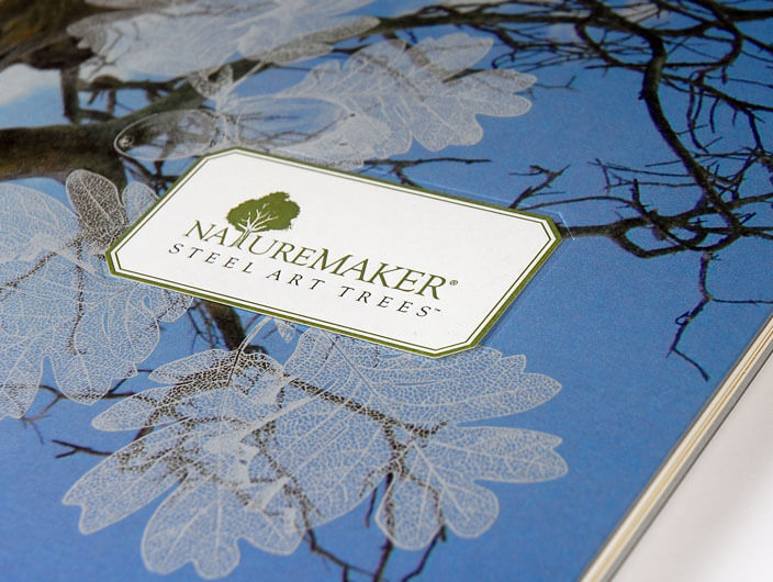 Studio Conover - NatureMaker | NatureMaker brochure close-up