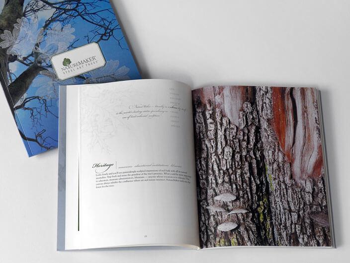 StudioConover - NatureMaker | NatureMaker Brochure spread