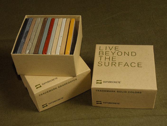 StudioConover - Syndecrete | Syndecrete sample box