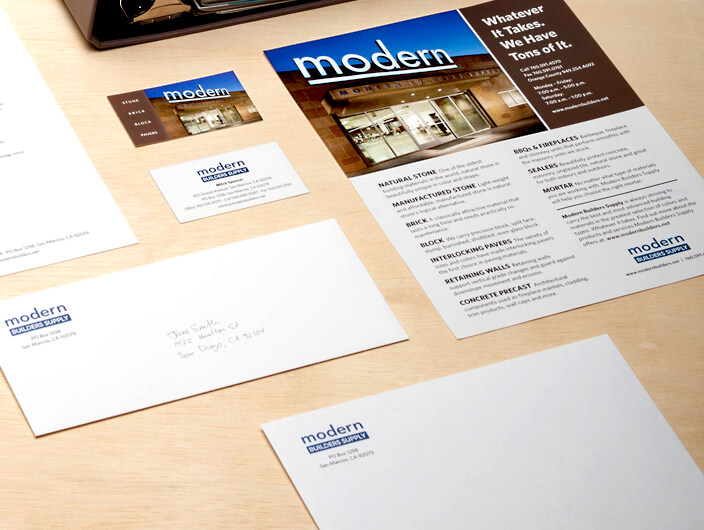 StudioConover - Modern Builders Supply | Modern Builders Stationery