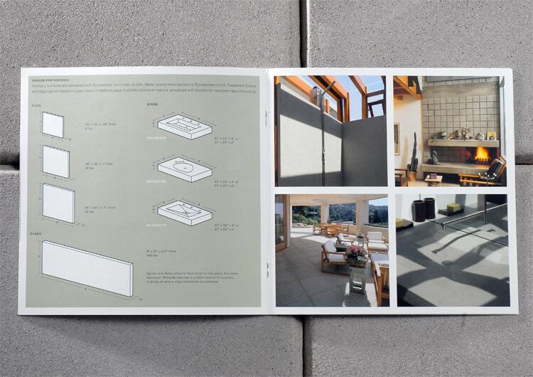 Studio Conover - Syndecrete | Syndecrete Brochure inside