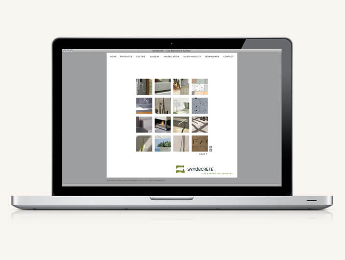 StudioConover - Syndecrete | Syndecrete website gallery