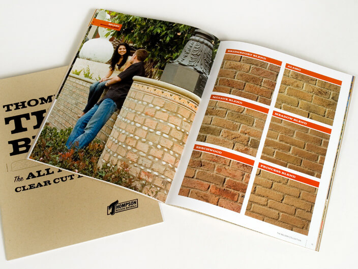 StudioConover - Thompson Building Materials   Thompson Building Materials Brochure