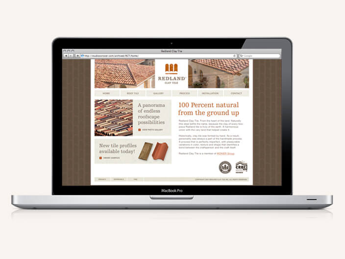 StudioConover - Redland Clay Tile | Redland Clay Tile website