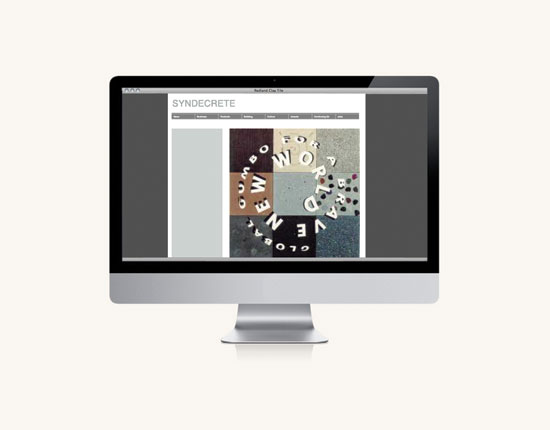 StudioConover - Syndecrete | Syndecrete website before