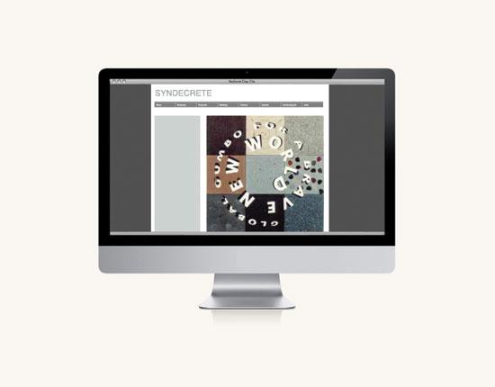 StudioConover - Syndecrete | Syndecrete website before