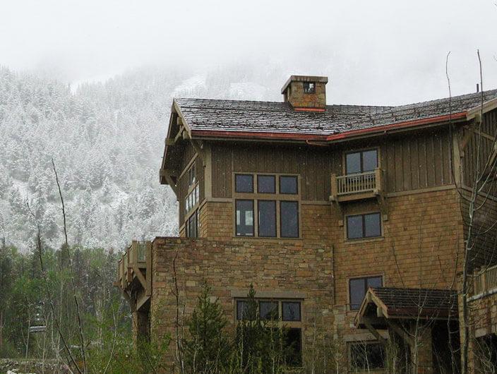 StudioConover - Architectural Design | 01 Four Seasons Teton Village snow