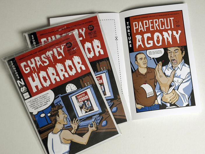 StudioConover - Self Promotion | Ghastly Horror comic