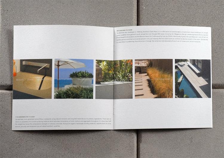 StudioConover - Syndecrete | Syndecrete Brochure