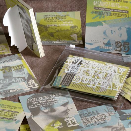 StudioConover - Self Promotion | Morrisey Calendar