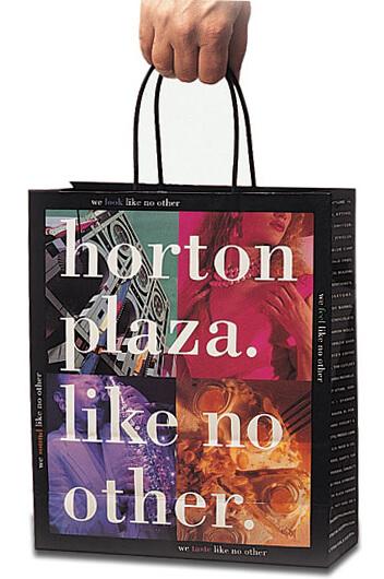 StudioConover - Client Promotion | Horton Plaza Bag