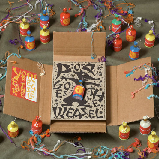 StudioConover - Self Promotion | Year of the Weasel Packaging