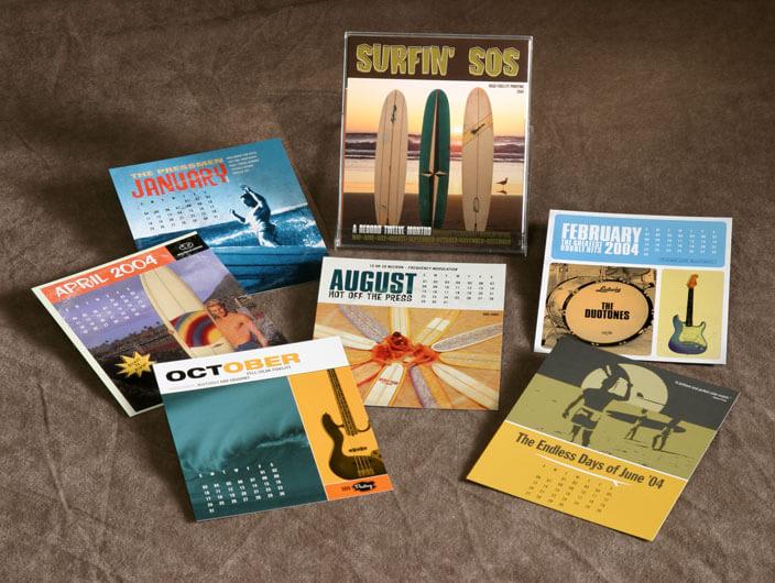 Studio Conover - Self Promotion | Surfin' SOS Calendar