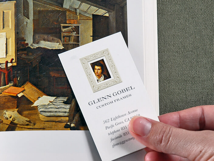 Studio Conover - Print and Packaging | Glen Gobel Business Card