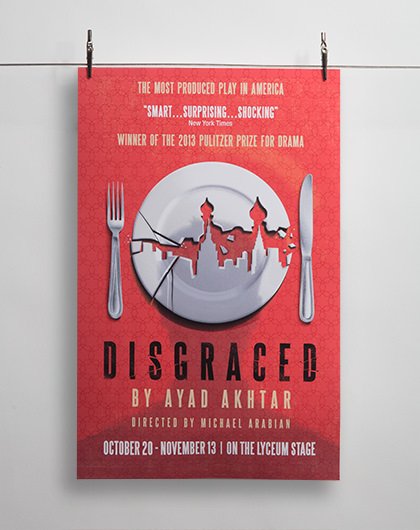 Studio Conover - Print and Packaging | SDREP Disgraced Poster