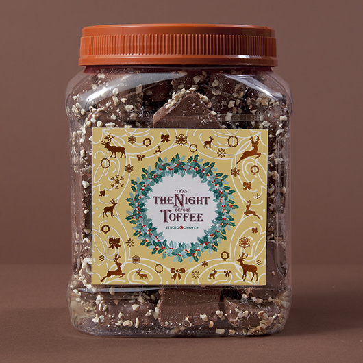 StudioConover - Self Promotion | Studio Conover Toffee Jar Label