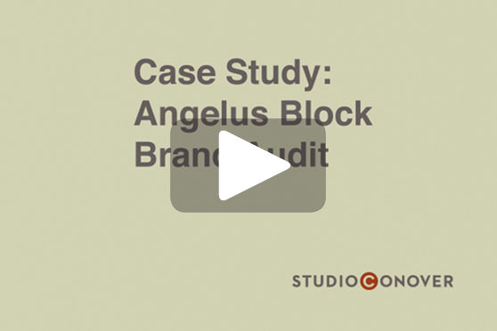 StudioConover - Video | ANGELUS PAVING STONES: Rebranding Strategy Presentation