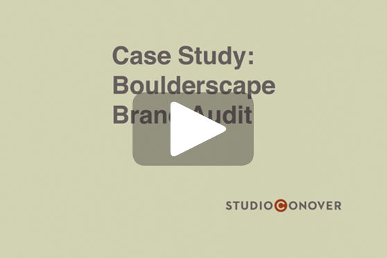 StudioConover - Video | BOULDERSCAPE: Rebranding Strategy Presentation