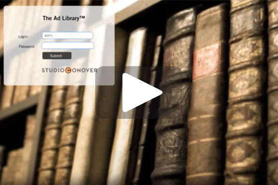 StudioConover - Video | STUDIO CONOVER: The Ad Library