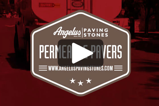 StudioConover - Video | ANGELUS PAVING STONES: Permeable Pavers Test