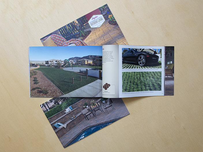 StudioConover - Angelus Paving Stones | Angelus Paving Stones Brochure Spread