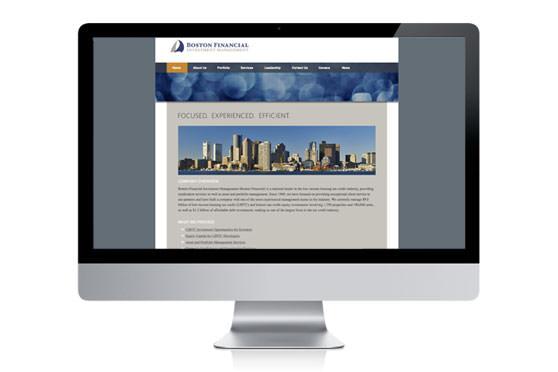 StudioConover - Web Development | Boston Financial website