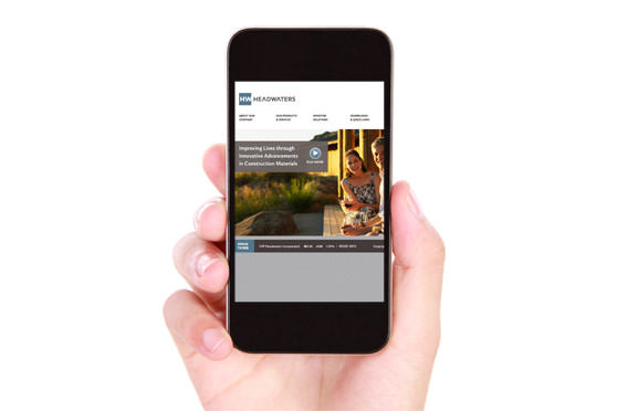 StudioConover - Web Development | Headwaters, Inc. website