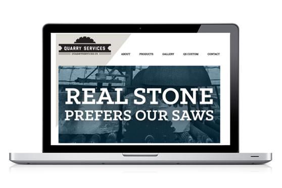 StudioConover - Web Development | Quarry Services Website