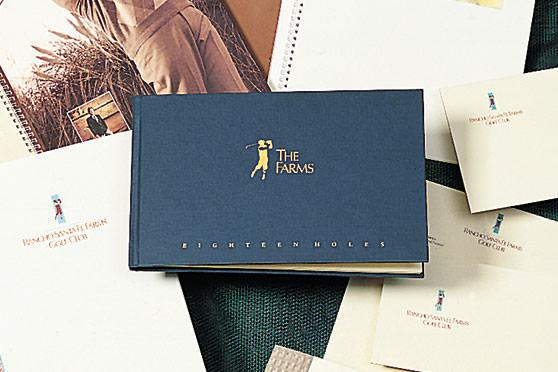 StudioConover - Brand Identity | Rancho Santa Fe Farms Logo