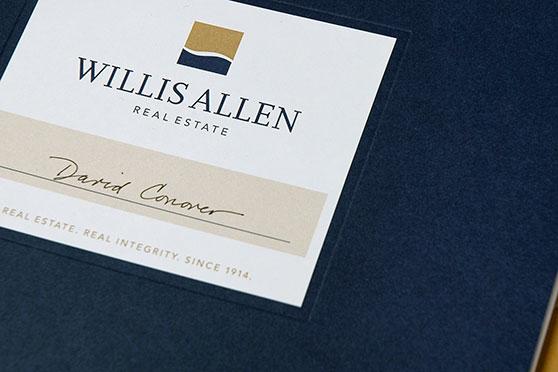 StudioConover - Brand Identity | Willis Allen Logo