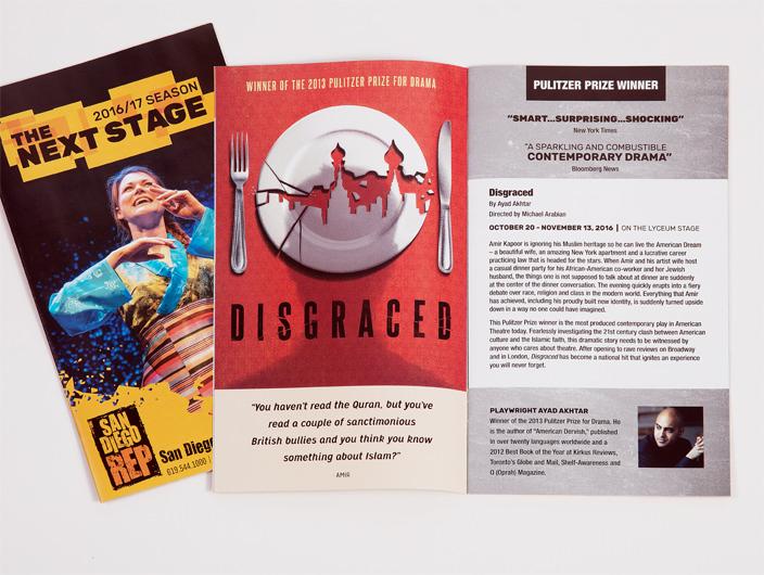 StudioConover - SAN DIEGO REPERTORY THEATRE | SDREP Season Brochure