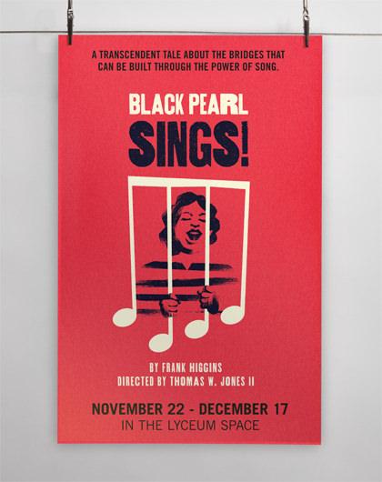 StudioConover - SAN DIEGO REPERTORY THEATRE | SDREP Black Pearl Sings! Poster