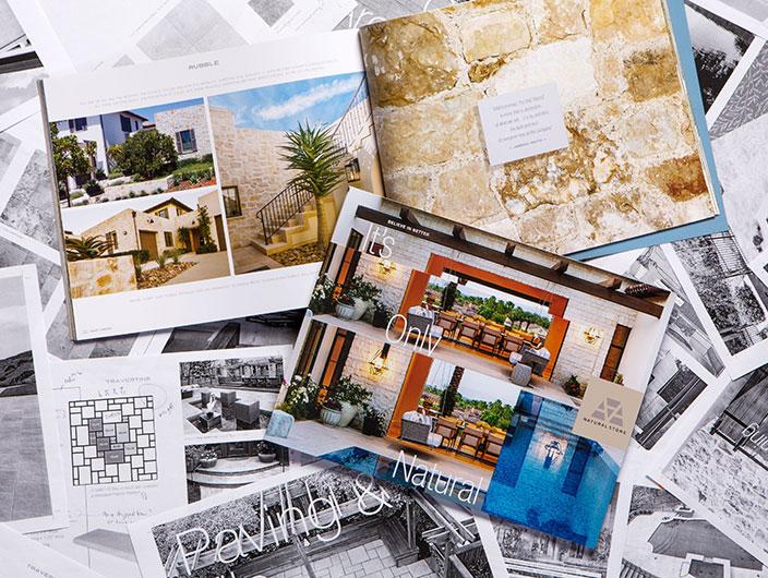 StudioConover - AAA Natural Stone   AAA General Brochure spread